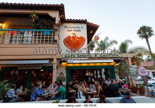 Cafe Coyote Old Town San Diego California