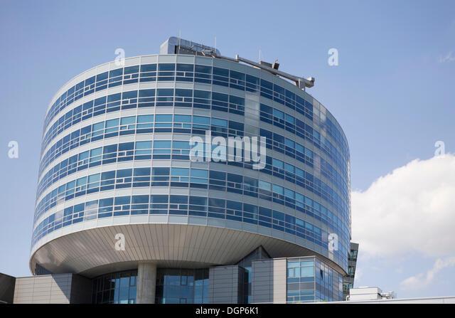 Mercedes benz headquarters stock photos mercedes benz for Where is mercedes benz headquarters