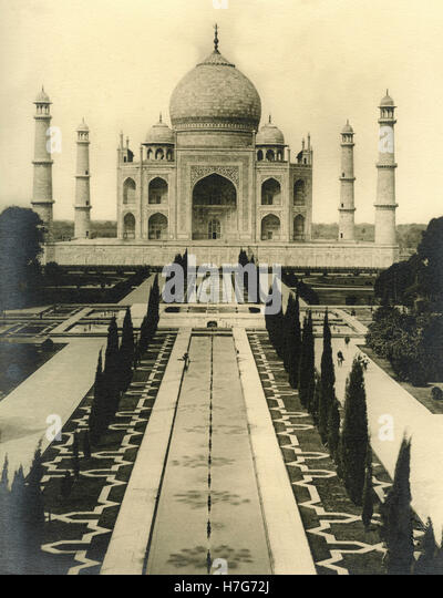 Taj Mahal, Agra, India - Stock Image