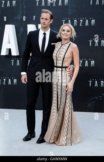 The European Premiere of The Legend Of Tarzan on 05/07/2016 at ODEON Leicester Square, London. Pictured: Margot - Stock Image