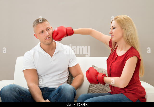 Husband And Wife Fighting Stock Photos Husband And Wife
