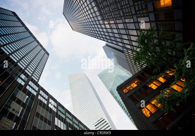 High-rise buildings, Park Avenue, Manhattan, New York, USA, America - Stock-Bilder