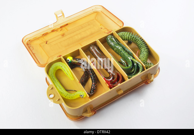 Tackle box stock photos tackle box stock images alamy for Bass fishing tackle box