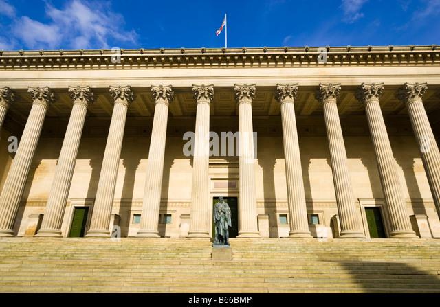 St Georges Hall, Liverpool, Merseyside, England, UK - Stock Image