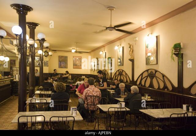 Spain Barcelona Cafe Xador Xocolateria in Ribera - Stock Image