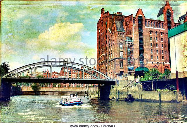 Hamburg speicherstadt 2 - Stock-Bilder