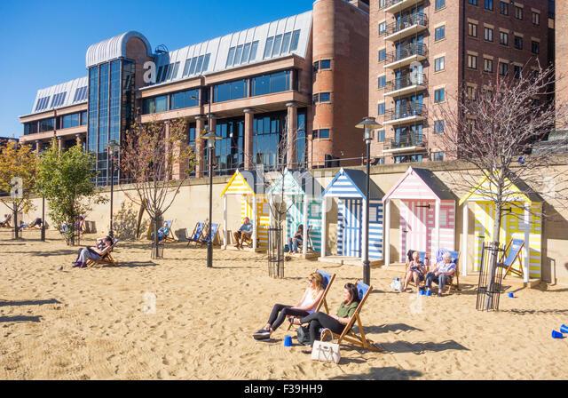 Newcastle Upon Tyne Beach Sunny