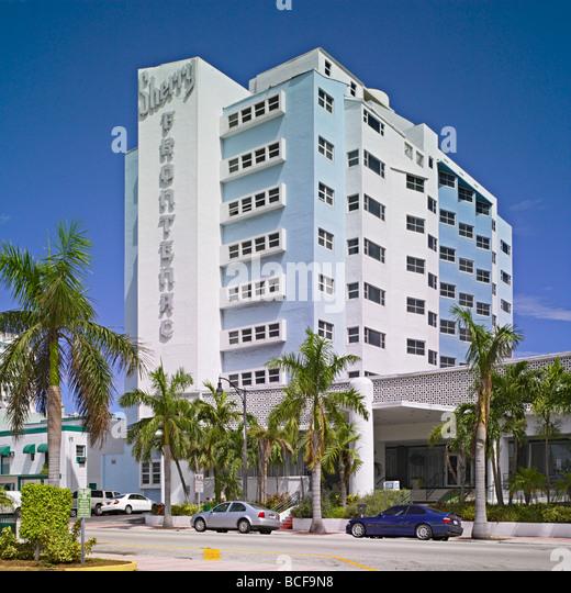 The Sherry Frontenac hotel in Miami Beach, Florida, USA - Stock-Bilder