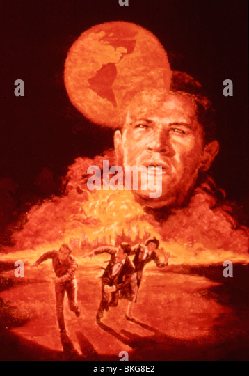 THE DAY THE EARTH CAUGHT FIRE (1961) POSTER DECF 027 - Stock Image