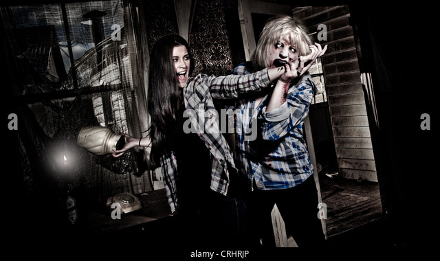 Zombie attack - Stock Image