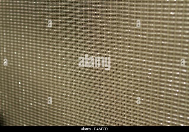 Speaker mesh texture - up close - Stock Image