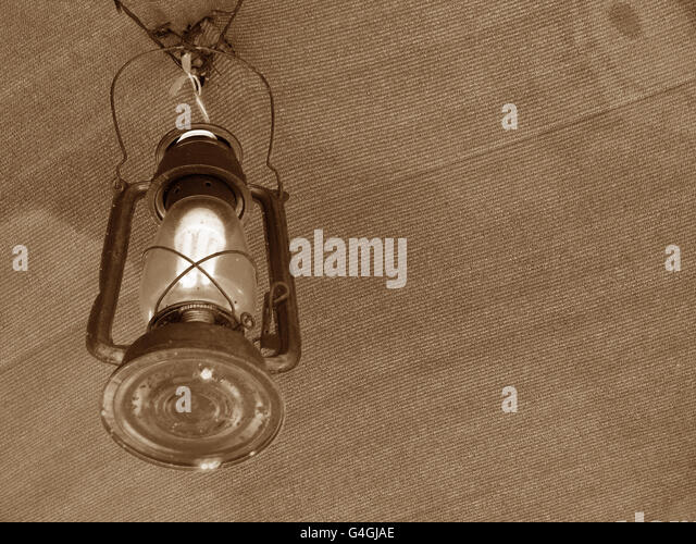 Hanging Traditional Light - Stock Image