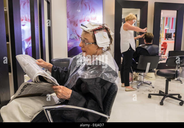 Hair dressers stock photos hair dressers stock images for Reading beauty salon