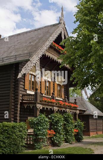Europe, Germany, Brandenburg, Potsdam, Russian Colony Alexandrovka, - Stock Image