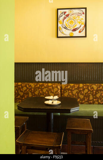 Booth seating stock photos images