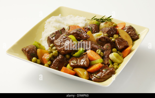 beef chuck stew - Stock Image