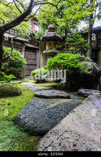 Tsubo niwa stock photos tsubo niwa stock images alamy for Traditional japanese garden