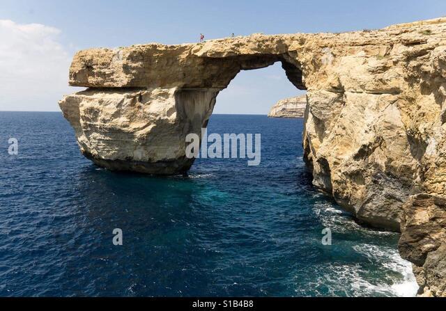 Azure Window at Gozo - Stock Image