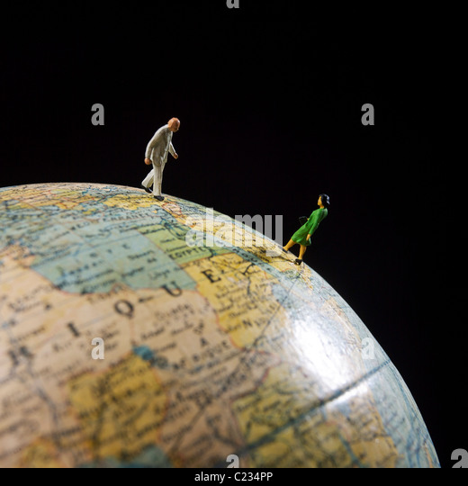 Concept - travel, communication, business, global trade, export, import, global travel - Stock Image