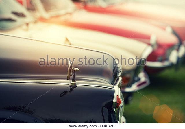 sunshine classic cars - Stock Image
