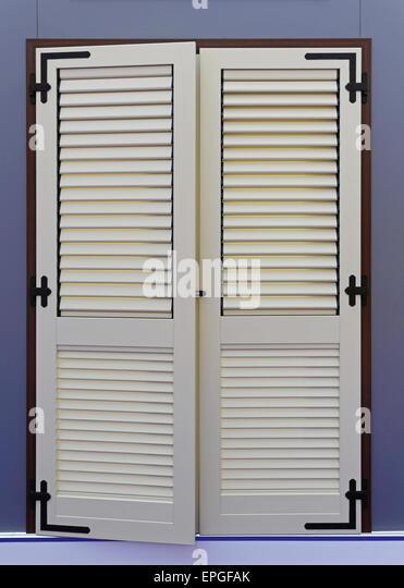 Window shutter - Stock Image