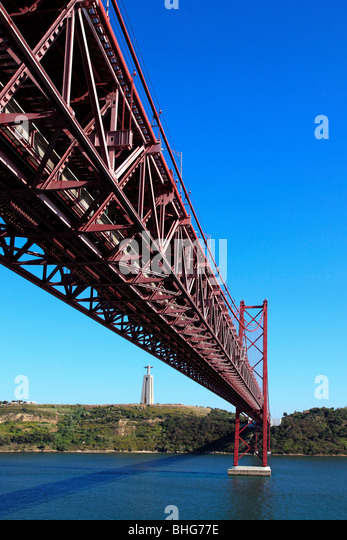 25th april bridge in lisbon - Stock-Bilder
