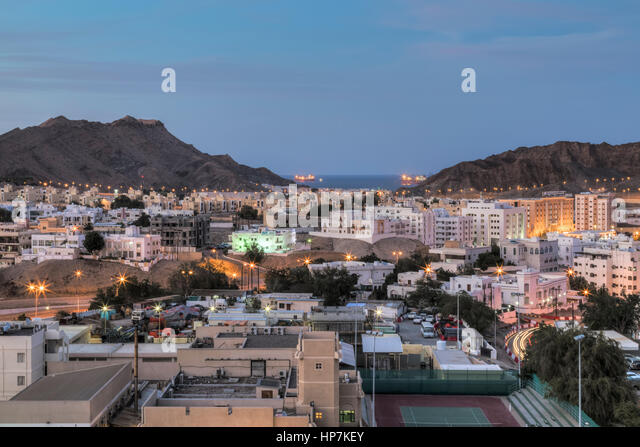 Muscat, Oman, Middle East, Asia - Stock Image