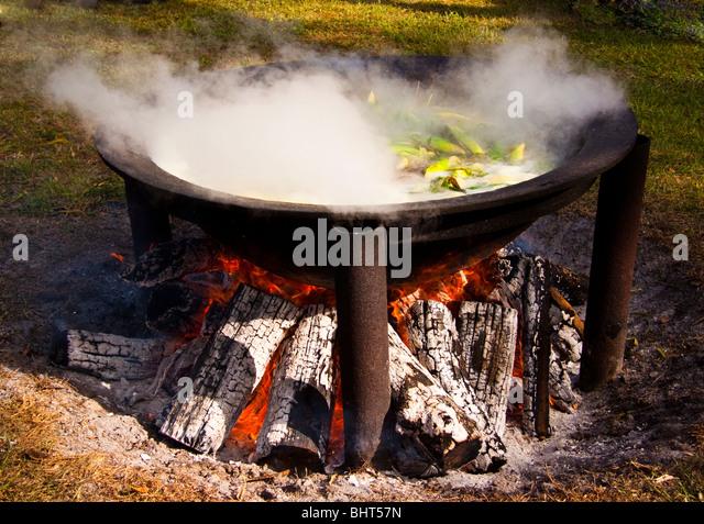 how to make an open fire