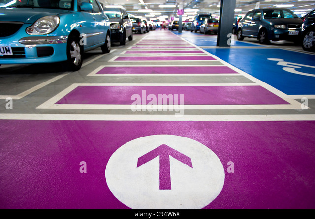 shopping mall car park stock photos shopping mall car park stock images alamy. Black Bedroom Furniture Sets. Home Design Ideas