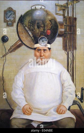 Otto Dix Dr. Mayer-Hermann - Stock Image