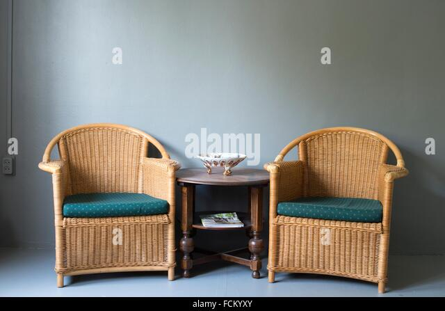 Rattan chairs stock photos rattan chairs stock images for Outdoor furniture yangon