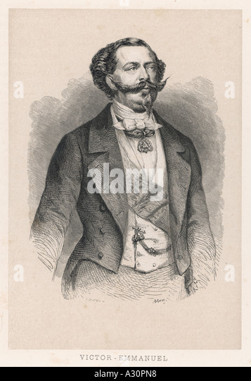 Vittorio Emanuele Ii Mar - Stock Image