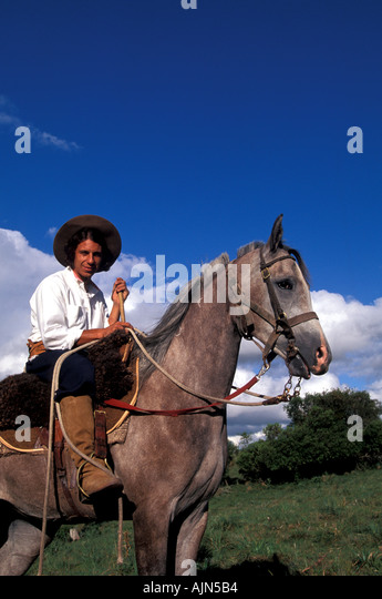 South America Gaucho in Uruguay MR 140 - Stock Image