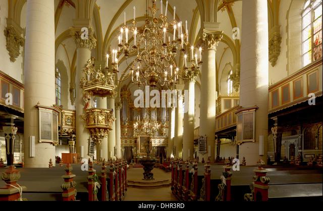 Municipal church, Bückeburg, Lower Saxony, Germany - Stock-Bilder