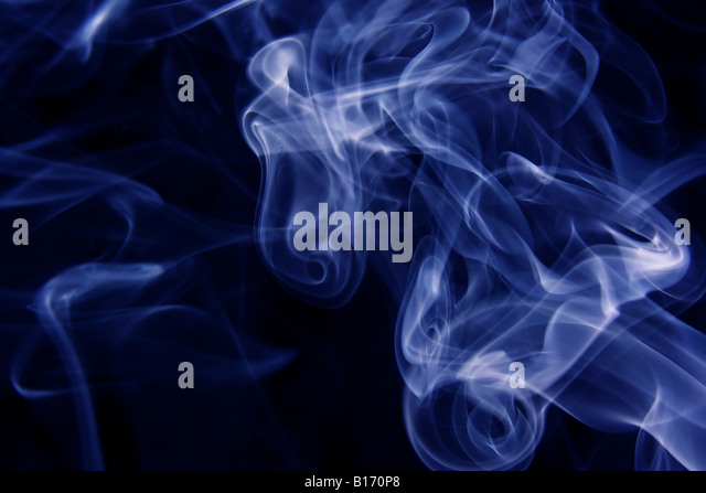 Background of swirling smoke - Stock-Bilder