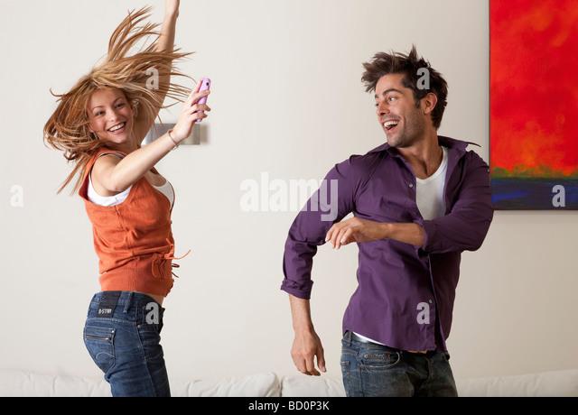 couple dancing - Stock-Bilder