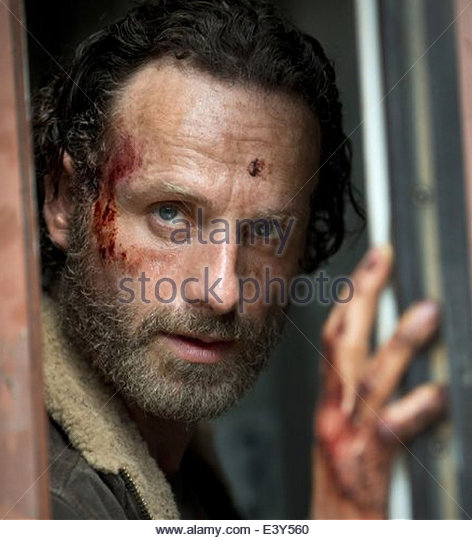 THE WALKING DEAD (episode 5) American Movie Classics production with Andrew Lincoln - Stock-Bilder