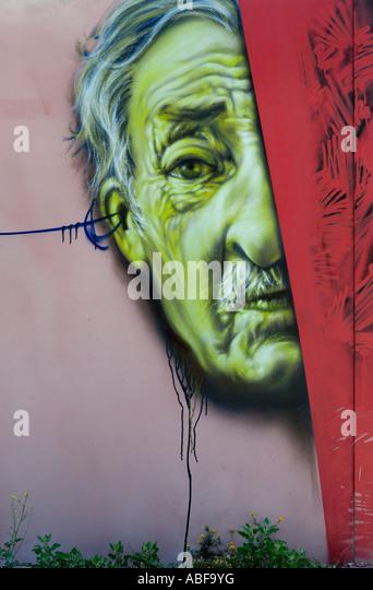 GRAFFITI ILLUSTRATION - Stock Image