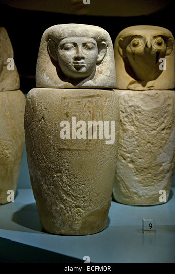 Egypt Egyptian museum archaeology civilization - Stock Image