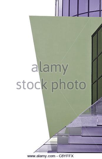 corporate building exterior - Stock-Bilder