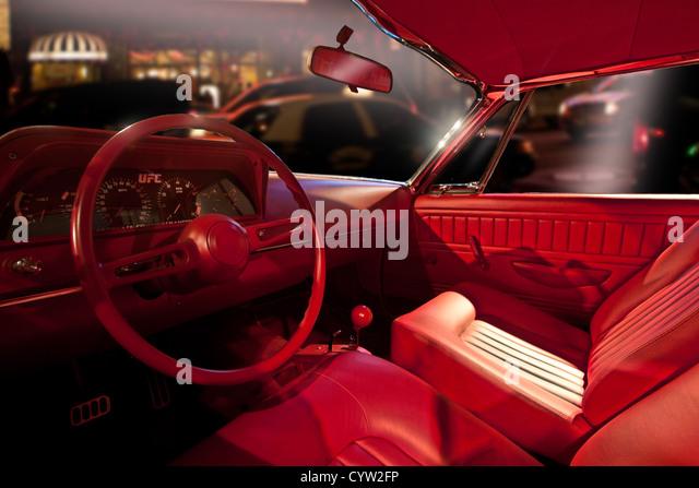 interior red car stock photos interior red car stock images alamy. Black Bedroom Furniture Sets. Home Design Ideas