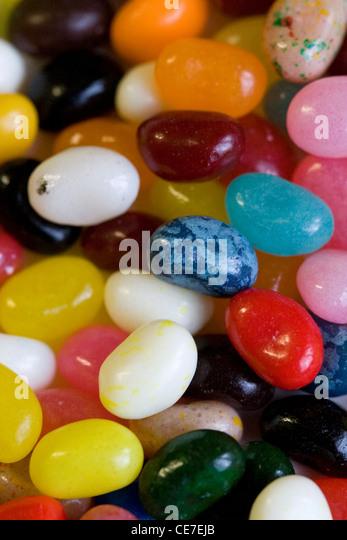 Flavored jelly beans. - Stock-Bilder