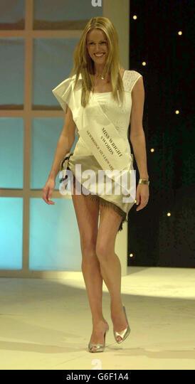 Miss Ireland Jenny Lee Masterson - Stock Image