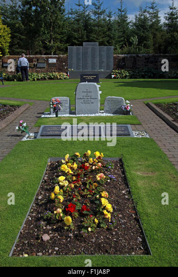 Lockerbie PanAm103 In Rememberance Memorial - Stock Image