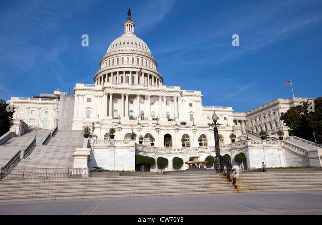 Capitol Building, Washington D.C. - Stock Image
