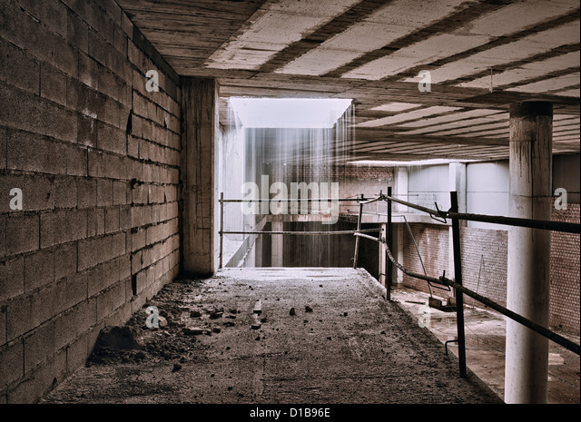 Abandoned building. - Stock-Bilder