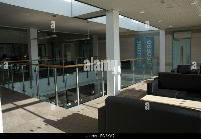 Foyer Wales Home : Sport centre reception stock photos