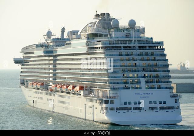 Royal Princess Cruise Ship Stock Photos Amp Royal Princess Cruise Ship Stock Images Alamy
