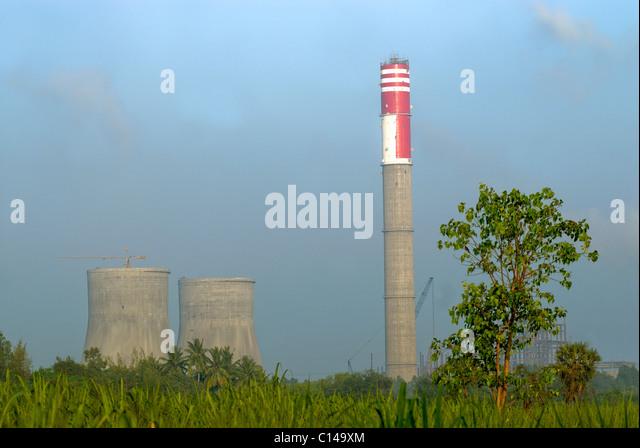 THERMAL POWER STATION OF NEYVELI LIGNITE CORPORATION LIMITED TAMILNADU - Stock-Bilder