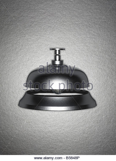 Close up of service bell - Stock Image